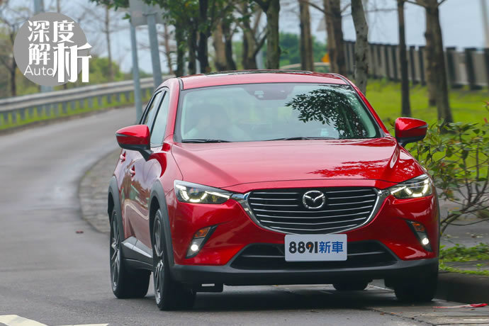 Mazda CX-3 如此動感 實測日系跑旅