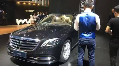【上海車展】預計最快年底登台 賓士小改款S-Class發表