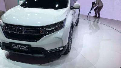 【上海車展】台灣上市倒數 直擊本田新款CR-V